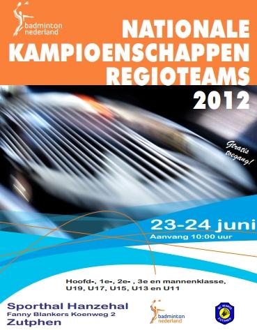 OSM Badminton - 'NK voor Regioteams met OSM' Badmintonnederland Nl